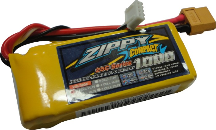 Lipo Zippy/Compact - 3s 11,1v-25/35c - 1000mah  - King Models