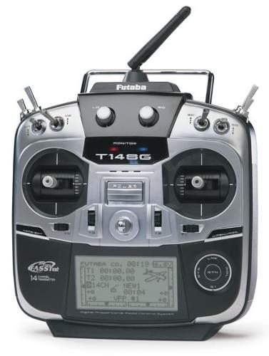 Novo Radio Futaba 14 Canais 14sg-heli-mode 2-com Telemetria!  - King Models