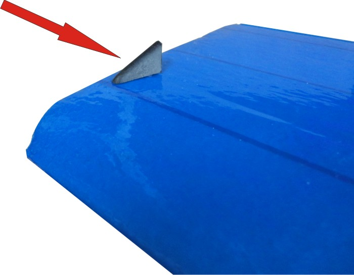 Proteção Anti-Choque para ponta de Asas para aeromodelos a combustão ou elétrico  - King Models