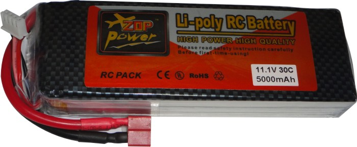 Bateria Lipo Zop Power-3s 11,1v-30c -5000mah-multirotores  - King Models