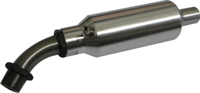 Mufla(escapamento) Para Motor Glow Asp120-4 Tempos  - King Models