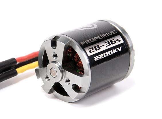 Motor Brushless Ntm 2836-2200kv - 696w - Zagui Até 1.0kg  - King Models