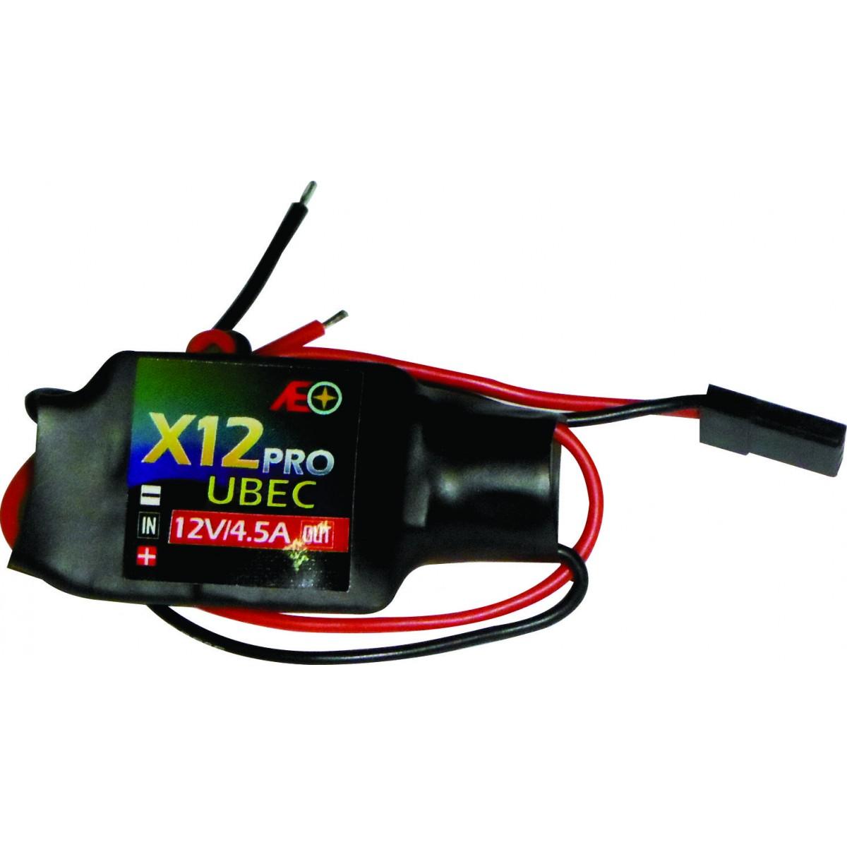 Bec Reg.de Voltagem Input:7.2 A 21v-output-12v-drone Com Led  - King Models