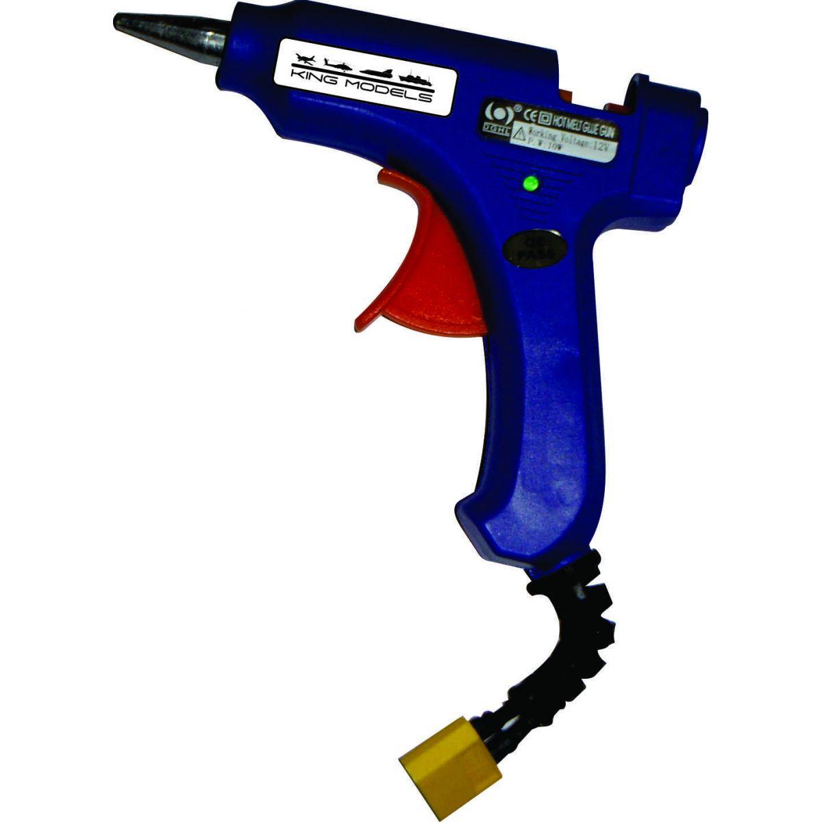 Pistola De Cola Quente Para Bateria De Lipo 3s Ou 12v  - King Models
