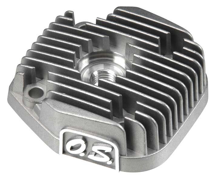 Cabeçote De Motor O.s. Max 55ax (metanol)-cód.25704000  - King Models