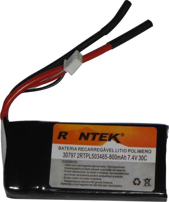 Bateria Lipo Rontek-2s 7,4v-30/40c - 800mah-aero/heli  - King Models
