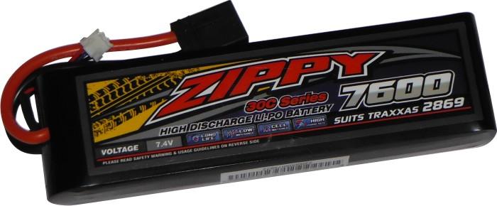 Lipo Zippy/flightmax 2s 7,4v-30c - 7600mah - Aero / Auto  - King Models