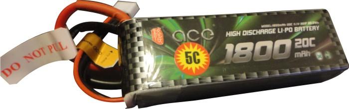 Bateria Lipo Ace-3s 11,1v-20/30c - 1800mah-aero/heli  - King Models