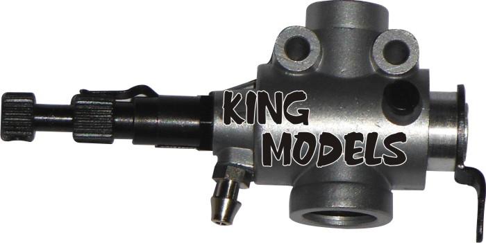 Carburador Completo Para Motor Glow Asp91-4 Tempos  - King Models