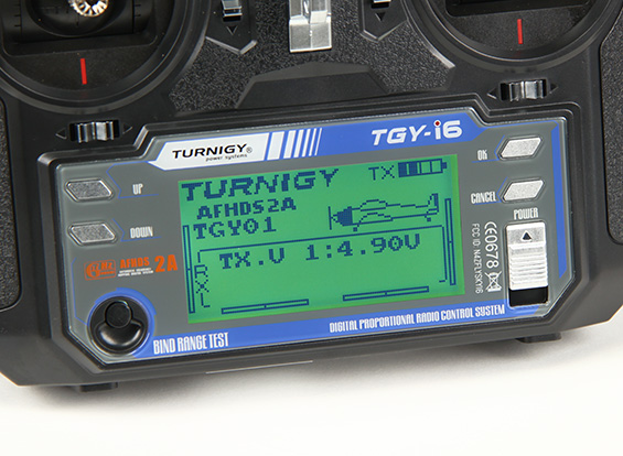 Radio Turnigy 6 Canais Digital-tgy-i6-2.4ghz-telemetria  - King Models