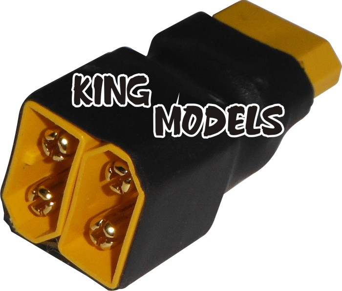 Plug Adaptador Xt60 Série-produção Própria/solda+segura!!  - King Models