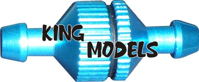 Filtro De Combustível Pequeno Para Motores Glow/Nitro-Modelismo  - King Models