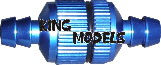 Filtro De Combustível Grande Para Motores Gasolina-Modelismo  - King Models