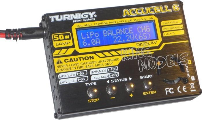 Carregador/balanceador Digital Acuccel 6-50w/6a-nova Versão!  - King Models
