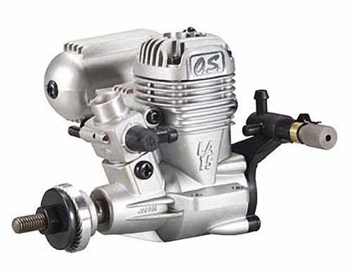 Motor Glow-os.max-.15la-2 Tempos-abn Com Mufla E Conexões!!  - King Models