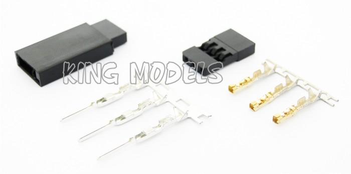 Conjunto de Conectores Futaba - 5x Pares  - King Models
