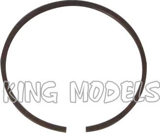 Conjunto De Pistão E Anel Para Motor Glow Asp.61-4 Tempos  - King Models