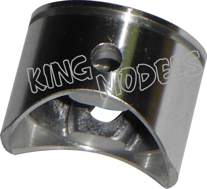 Conjunto De Pistão E Anel Para Motor Glow Asp.91-4 Tempos  - King Models