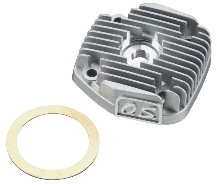 Cabeçote De Motor O.s. Max 46axii (metanol)-cód.24604010  - King Models