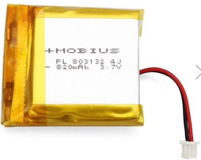 Bateria Lipo P/ Mobius Action Cam-3.7v-820mah-conexão Exata!  - King Models