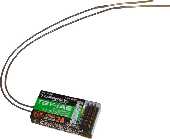 Receptor Turnigy 2.4ghz-modelo-ia6/6 Canais/afhds 2a  - King Models