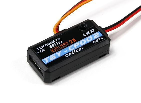 Sensor Ótico/rpm-telemetria Para Rádios Tgy-i6 E Tgy-i10  - King Models