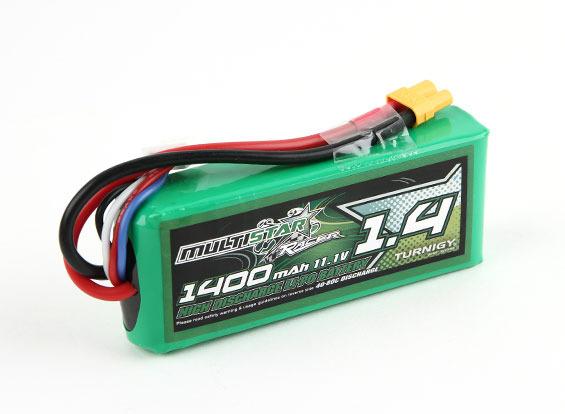 Bateria Lipo Multistar 3s-11.1v-1400mah-40/80c.drones Racers  - King Models