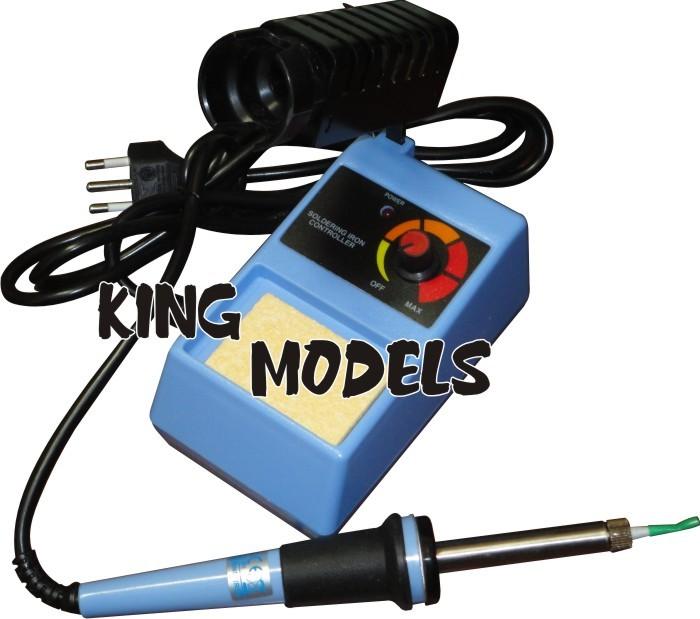 Estação De Solda Mxt - 110v - 50w - Controle De Temperatura  - King Models