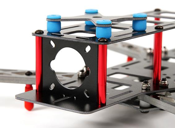 Frame Mini Drone Racer Classe 250 - Mod.kim250 Com Placa Pcb  - King Models