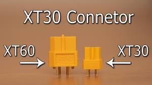 Conector Xt30 - (30a/h) - Retrátil Grátis - 2 X Pares(mxf)  - King Models