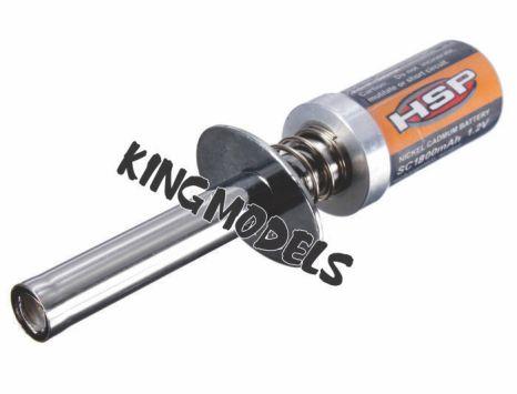 Aquecedor De Velas Hsp - 1800mah Para Motores Glow - S/fonte  - King Models