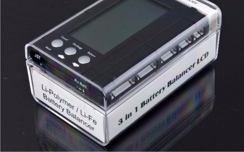 Battery Meter (3em1)checker/balanço/descarga Para Lipo/life  - King Models