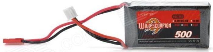 Bateria Lipo Wild Scorpion 2s 7.4v 500mah 25-35c  - King Models