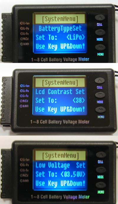 Battery Analizer Checker De Balanço Para Lipo/life/nimh/nimh  - King Models