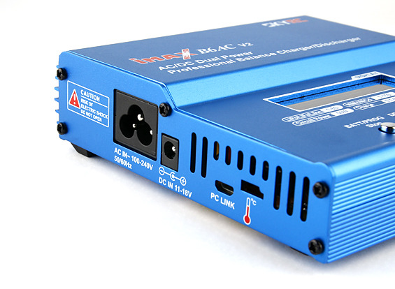 Carregador Inteligente Imax B6 -80w-7a - Dual Power + Brinde  - King Models