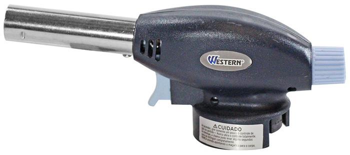 Maçarico Western Mod.6019 + 3x Frascos Gás Butano 227gm  - King Models