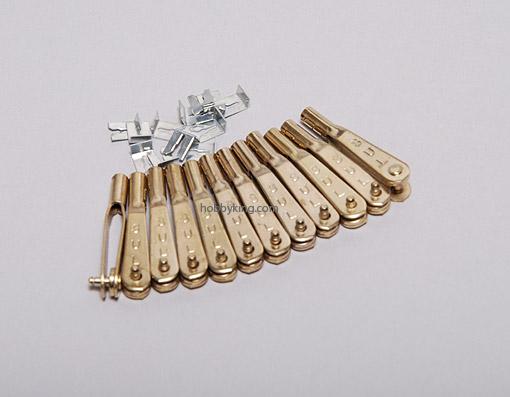 Clevis De Metal Sullivan M2 - Aeros Larga Escala -12pçs  - King Models