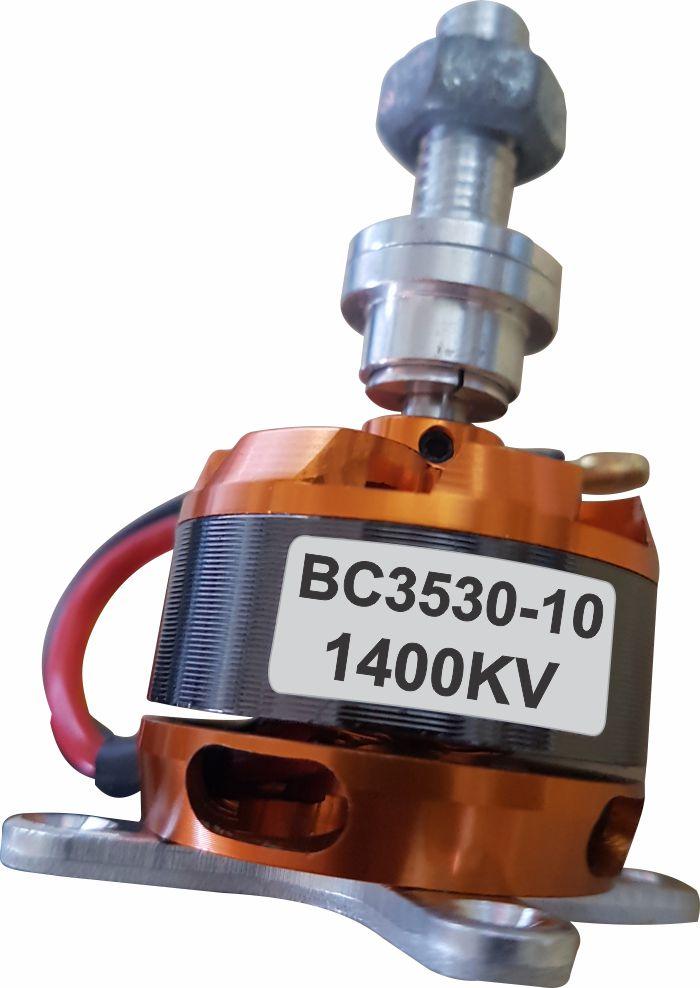 Motor Brushless Rctimer 3530-1400kv - 430w - Aeros Até 1,3kg  - King Models