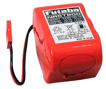 Pack Bateria Futaba Nicd 6v - 600mah Ignição Aeros Gasolina  - King Models