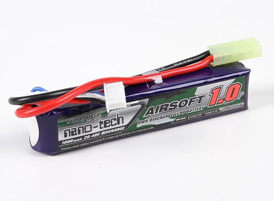 Bateria De Lipo Nano-tech - 3s-11.1v-1000mah - 20/40c-palito  - King Models