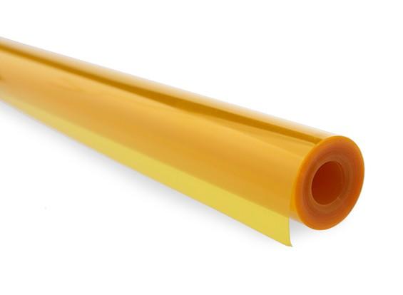 Chinakote (monokote)- Amarelo Translúcido - 640mm - 1x Metro  - King Models