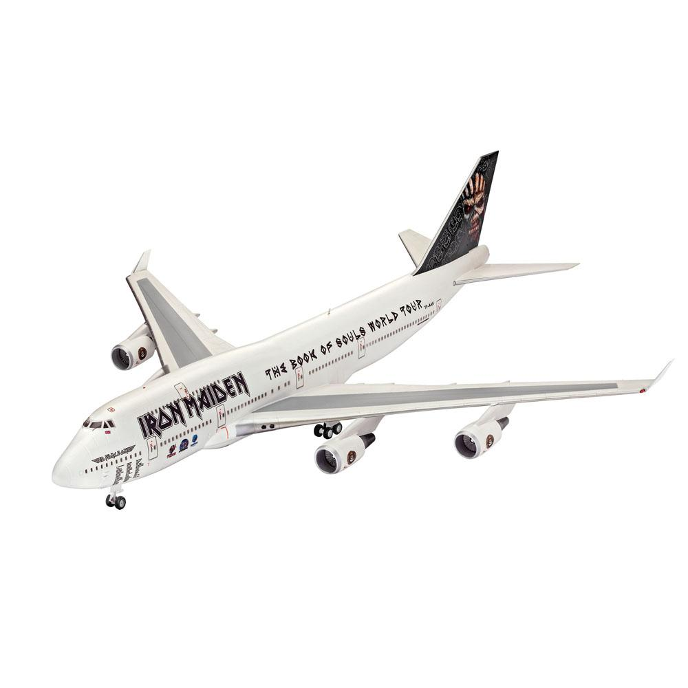Revell - Boeing 747-400 Iron Maiden-force One- Colecionador - King Models