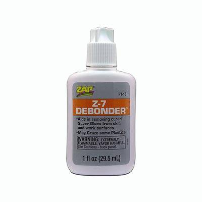 Debonder - Descolante De Cianocrilato - Zap - 1oz(29.5ml)   - King Models