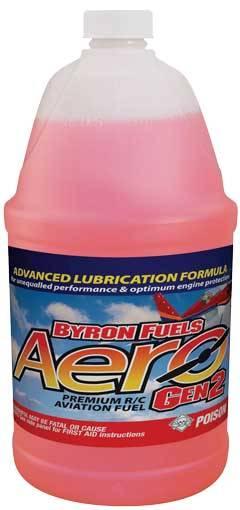 Mistura Byron-10%nitro-16%óleo-aeros-2t-frasco 3.78lts  - King Models