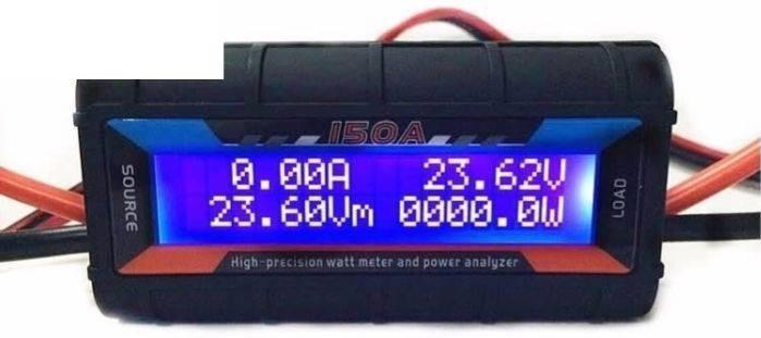 Wattímetro E Analisador De Potência Gt Power 150a -modelismo   - King Models