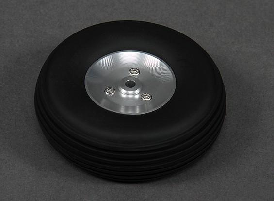Roda De Borracha Maciça 63mm - Cubo Alumínio- Aeros Glow/gas   - King Models