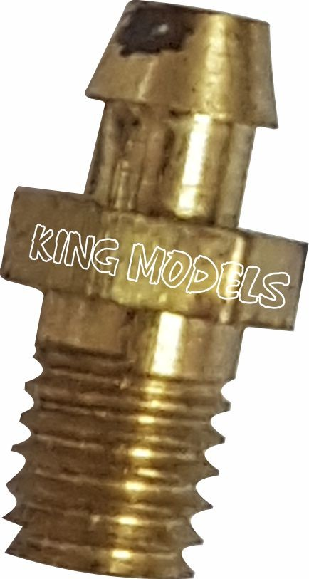 Nipple Lynx 4mm Para Mufla De Motores Glow/combustão   - King Models