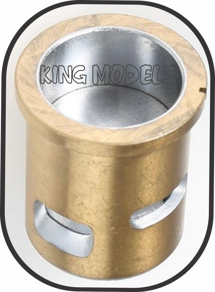 Conjunto Camisa E Pistão Para Motor Glow Asp 32/36-2 Tempos   - King Models