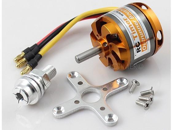 Motor Brushless Rctimer 3536/6- 1250kv 500w+montante/spinner   - King Models