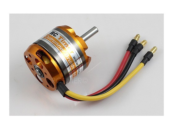 Motor Brushless Rctimer 3536/6- 1250kv 500w+montante/spinner   - King Models